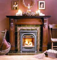 Fires of Tradition Mantel